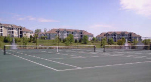 Macalister tennis court