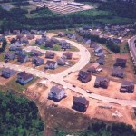 Tavistock Farms - Curtin Drive and Santmyer Drive in July 1998.